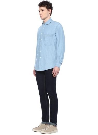 Aspesi Gömlek İndigo